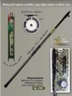 Набор для рыбалки BOYSCOUT (Удилище 4 м с кольцами, проводочная катушка, леска) 61801
