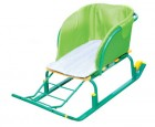 Сиденье для санок НИКА без чехла для ног СС2-1 зеленый