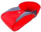 Сиденье для санок НИКА с чехлом для ног СС3 красный