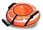 Тюбинг АВТ ТЕНТ Д=73 см, Апельсин, ПВХ/ПВХ, до 35 кг