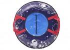 Тюбинг АВТ ТЕНТ Д=73 см, Pilot синий, ПВХ/ПВХ, до 35 кг