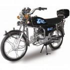 Мопед ALFA 110 W-J50 FANTOM черный