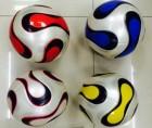 Мяч футбольный 22 см, PVC 3-х слойный 9502