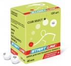 Мяч для настольного тенниса START LINE Club Select 1*   белый в упаковке 120 шт. B 120
