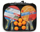 Набор для настольного тенниса START LINE 4 ракетки-Level 200+6 мяч.-Club Select 61-453-1