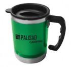 Термокружка PALISAD 300 мл, с крышкой-поилкой, в пластиковом корпусе 69531