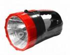 Фонарь SmartBuy светильник аккумуляторный, 220V, 3W+6 Led, черный (SBF-400-K) 7319