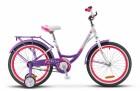 Велосипед 20' хардтейл, рама женская, алюминий STELS PILOT-210 LADY пурпурный/белый, 1 ск.