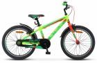 Велосипед 20' рама алюминий STELS PILOT-250 Gent неон-зеленый/неон-красный, 1 ск., 11'