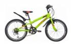 Велосипед 20' хардтейл NOVATRACK RACER зеленый, тормоз V-Brake, 12 ск. 20SH12V.RACER.GN20