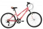 Велосипед 24' рама женская FOXX SALSA V-brake, розовый, 14' 24SHV.SALSA.14PK1 (А21)