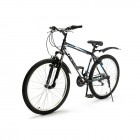 Велосипед 26' хардтейл TOPGEAR Forester 21 ск, V-brake, крылья черный/синий 18' ВН26430К