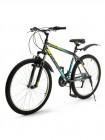 Велосипед 26' хардтейл TOPGEAR Forester 21 ск, V-brake, крылья серый 18' ВН26432К