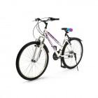 Велосипед 26' хардтейл TOPGEAR Style 21 ск, тормоза V-brake бело-фиолетовый 16' ВН26433К