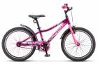 Велосипед 20' хардтейл STELS PILOT-210 Фиолетовый/розовый 2021, 11' Z010 LU088514