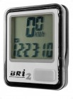 Велокомпьютер BRI-2 серебристый/черный, 8 функций