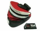 Сумка под седло KONNIX TY-05120X быстросъемная, с увелич. объемом, красная со светоот. полосой 10945