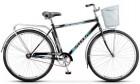 Велосипед 28' дорожный STELS NAVIGATOR-300 Gent черный, 1ск., 20' + корзина