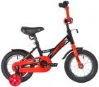Велосипед 12' NOVATRACK STRIKE черный-красный 123 STRIKE.BKR 8