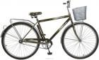 Велосипед FOXX 28' дорожный, FUSION коричневый+передняя корзина 282 SHM.FUSION.BR8