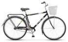 Велосипед 28' дорожный STELS NAVIGATOR-300 Gent серый, 1ск., 20' + корзина Z010