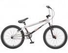 Велосипед TECH TEAM 20' BMX JUMP серебристый/черный