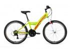 Велосипед 24' хардтейл FORWARD DAKOTA 24 1.0 зеленый\красный, 18 ск., 13' RBKW91N4P003 (20)