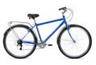 Велосипед 28' дорожный FORWARD DORTMUND 28 2.0 синий, 7 ск., 19' RBKW9RN87003
