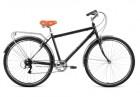 Велосипед 28' дорожный FORWARD DORTMUND 28 2.0 черный, 7 ск., 19' RBKW9RN87002