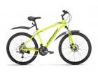 Велосипед 26' хардтейл, рама алюминий FORWARD HARDI 26 2.0 disc желтый, 21ск., 17' RBKW9M66Q012