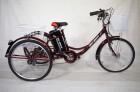 Электровелосипед 3х-колесный Иж-Байк Фермер 24', 250 W, 36В/12Ah гелиевая, красный металлик