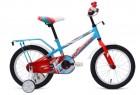 Велосипед 16' FORWARD METEOR 16 бирюзовый/красный мат. RBKW9LNG1004