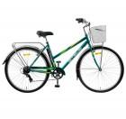 Велосипед 28' STELS Navigator-350 Lady Морская волна 2020 + корзина 20' Z010 LU085345