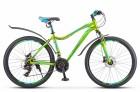 Велосипед 26' рама женская, алюминий STELS MISS-6000 D диск, жёлт./зелён., 21 ск., 17' V010 LU083856