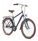Велосипед 26' дорожный, рама алюминий STINGER Toledo синий, 3 ск., 18' 26AHV.TOLEDO.18BL8