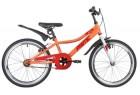 Велосипед 20' рама женская, алюминий NOVATRACK PRIME терракот., V-brake 207PRIME1V.CRL20
