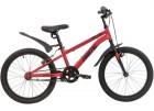 Велосипед 20' рама женская, алюминий NOVATRACK PRIME красный, V-brake 207PRIME1V.RD20