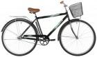 Велосипед 28' дорожный FOXX FUSION черный + передняя корзина 20' 28SHC.FUSION.20BK1