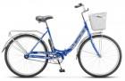 Велосипед 26' складной, STELS Pilot-810 синий 2020, 19' Z010 LU093334
