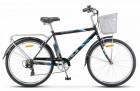 Велосипед 26' STELS Navigator-250 Gent Z010 19' Серый 2018 + корзина LU089100 (А21)
