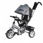 Велосипед 3х-колесный CITY JW 7 MS 10'/8', серый (17-Р)