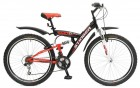 Велосипед 26' двухподвес STINGER BANZAI черый, 16' 26 SFV.BANZAI.16 BK8