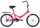 Велосипед 20' складной ALTAIR CITY 20 розовый/белый, 14' RBKT0YN01005