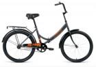 Велосипед 24' складной ALTAIR CITY 24 серый/оранжевый, 16' RBKT0YN41003