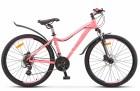 Велосипед 26' рама женская, алюминий STELS MISS-6100 D диск, светло-красный, 21 ск., 15' (LU078914)