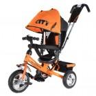 Велосипед 3х-колесный CITY JD 7 OS 10'/8', оранжевый
