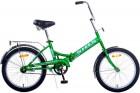 Велосипед 20' складной STELS PILOT-310 13' Зелёный/жёлтый Z011 LU086911