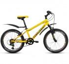 Велосипед 20' хардтейл FORWARD UNIT 2.0 мат. Желтый, 6 ск., 10,5' RBKW8JN06012