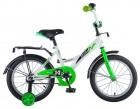 Велосипед 16' NOVATRACK STRIKE белый-зеленый 163 STRIKE.WTG 8