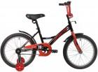 Велосипед 18' NOVATRACK STRIKE черный-красный 183 STRIKE.BKR 20